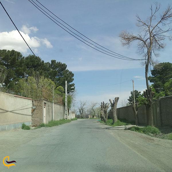 عکس روستای تاج خاتون قم