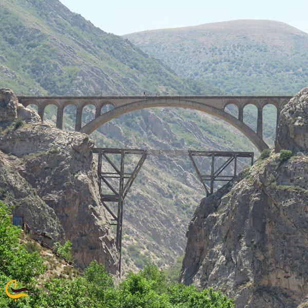 عکس مسیر خط راه آهن تهران – ساری