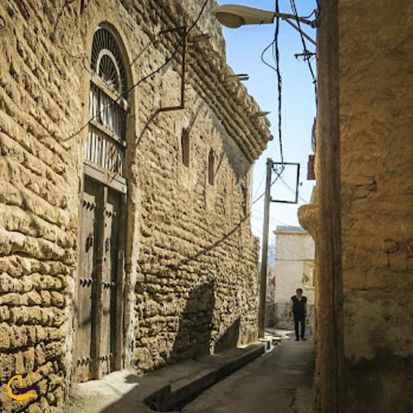 تصویری از بافت تاریخی بوشهر