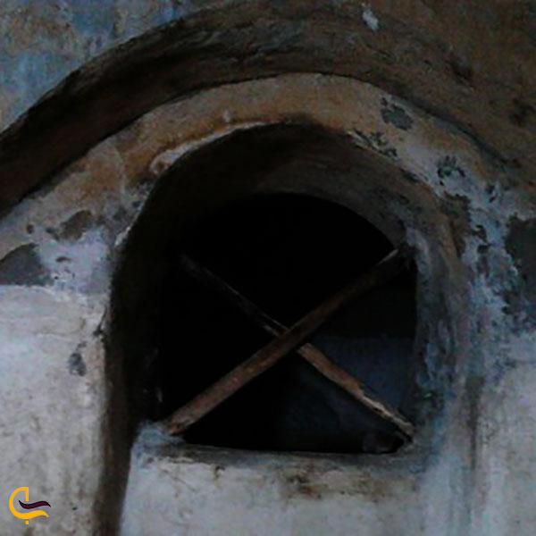 عکس حمام قدیمی در روستای پلکانی توداران