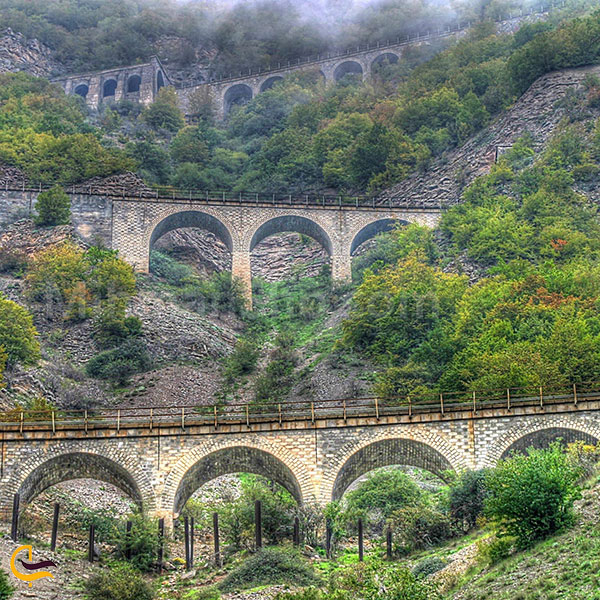 عکس سه خط طلا خط راه آهن تهران – ساری