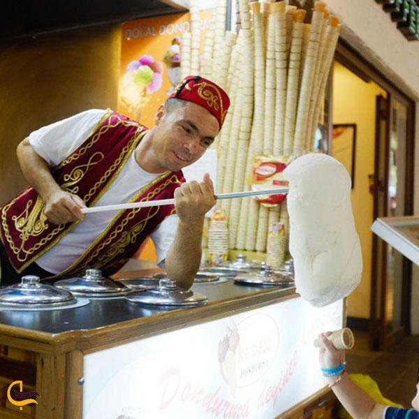عکس بستنی ترکی