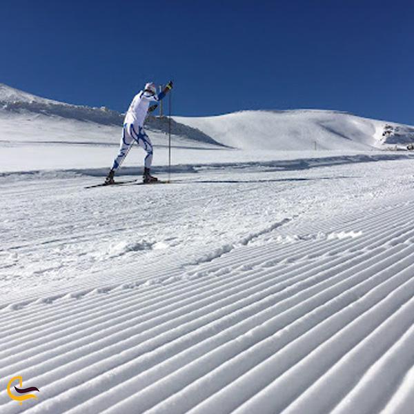 تصویری از پیست اسکی سهند