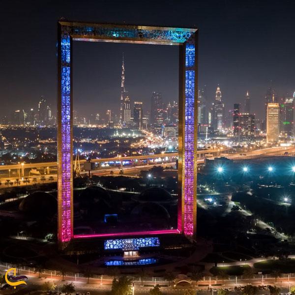 تصویری از قاب دبی